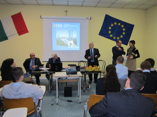 Conferenza a Gallarate sulla  security aeroportuale